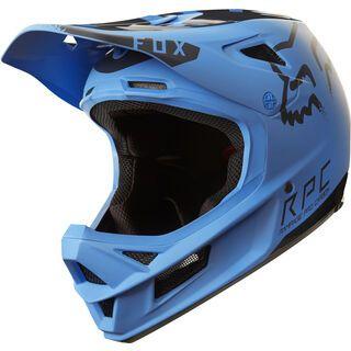 Fox Rampage Pro Carbon Moth Helmet, blue/black - Fahrradhelm