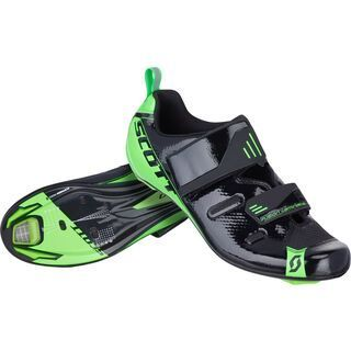 Scott Tri Pro, black neon green - Radschuhe