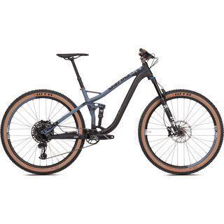 NS Bikes Snabb 130 Plus 1 2019, black/steelblue - Mountainbike