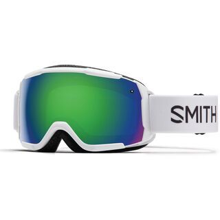 Smith Grom, white/Lens: green sol-x mirror - Skibrille