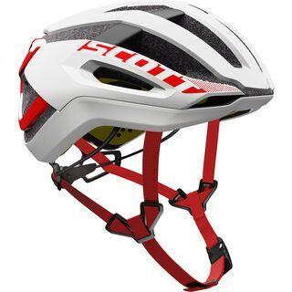 Scott Centric Plus Helmet, white/red - Fahrradhelm
