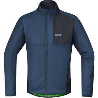 Gore Wear C5 Gore Windstopper Thermo Trail Jacke, deep water blue/black - Radjacke