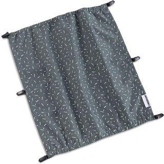 Croozer Sonnenschutz für Kid Zweisitzer ab 2014 graphite blue/white