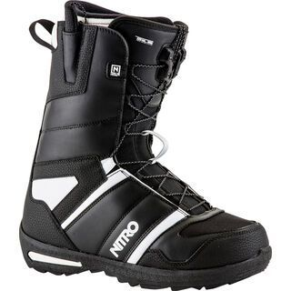 *** 2. Wahl *** Nitro Vagabond TLS 2017, black sand - Snowboardschuhe   Größe 44 2/3 // 29,5