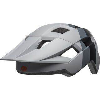 Bell Spark Downdraft, gray/orange uni - Fahrradhelm