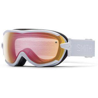 Smith Virtue, white/red sensor mirror - Skibrille