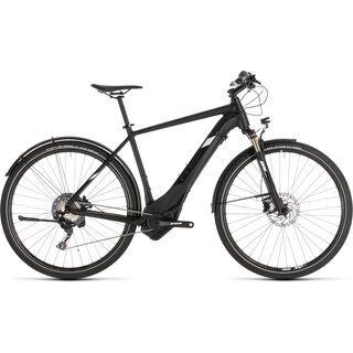 Cube Cross Hybrid Race Allroad 500 2019, black´n´white - E-Bike