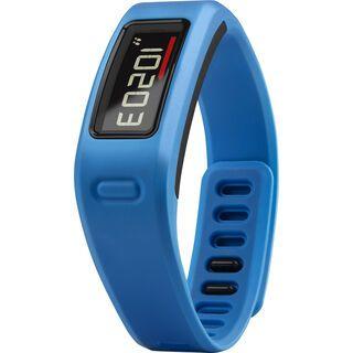 Garmin vivofit HRM Bundle (mit Brustgurt), blau - Fitnessarmband