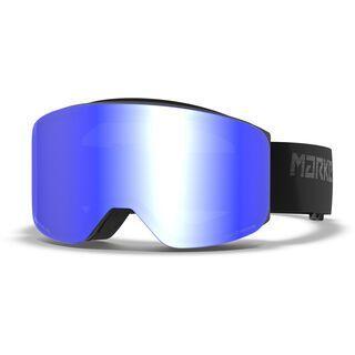 Marker Squadron Polarized, black/Lens: blue hd mirror - Skibrille