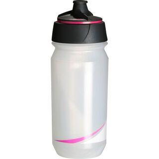 Tacx Shanti Twist, transparent leuchtpink - Trinkflasche