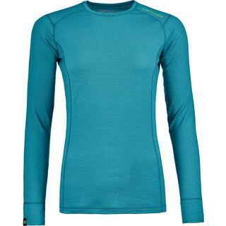Ortovox 145 Merino Ultra Long Sleeve W, aqua - Unterhemd