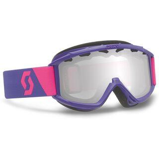 Scott Junior Hook up, Purple/Silver Chrome - Skibrille