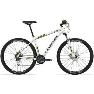 Cannondale Trail 29 4 2014, weiß - Mountainbike