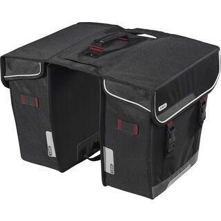 Abus Basico ST 5540 + Klettschlaufen - Gepäckträgertasche