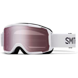 Smith Daredevil, white/Lens: ignitor mirror - Skibrille