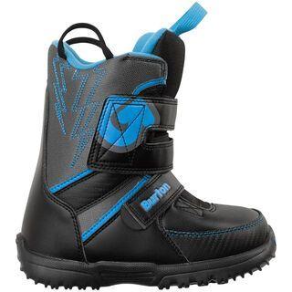 Burton Grom, Black/Gray/Blue - Snowboardschuhe