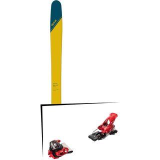 Set: DPS Skis Wailer 112 RP2 Tour1 2018 + Tyrolia Attack² 18 X GW red