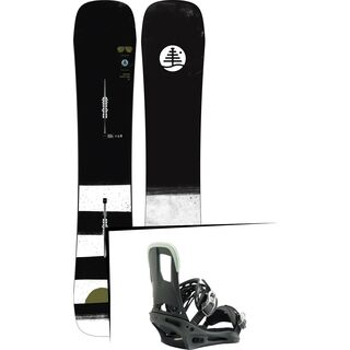 Set: Burton Family Tree Trick Pilot 2019 + Burton Cartel salty shark