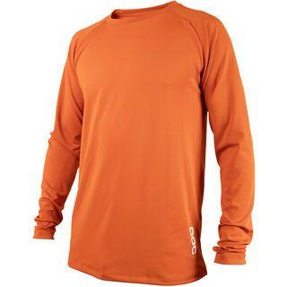 POC Resistance DH LS Jersey, adamant orange - Radtrikot