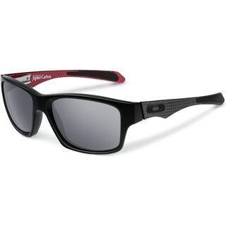 Oakley Jupiter Carbon, Polished Black/Black Iridium Polarized - Sonnenbrille