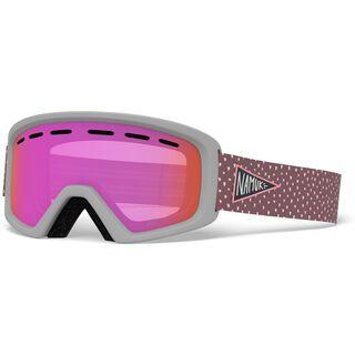 Giro Rev, namuk pink/Lens: amber pink - Skibrille