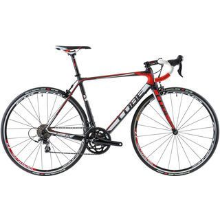 Cube Agree GTC Pro Compact 2014, carbon/white/red - Rennrad