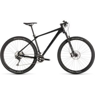 *** 2. Wahl *** Cube Reaction SL 29 2019, black´n´grey - Mountainbike | Größe 19 Zoll