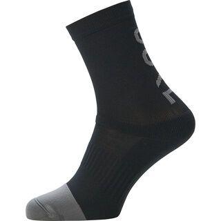 Gore Wear M Brand Socken Mid black/graphite grey