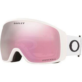 Oakley Flight Tracker XL Prizm, matte white/Lens: hi pink iridium - Skibrille