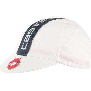 Castelli Retro 3 Cap, 50's washed white/anthracite - Radmütze