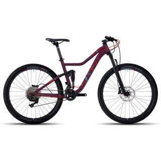 Ghost Lanao FS 5 AL 2017, red/blue - Mountainbike