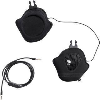 POC Aid Communication Headset for Obex, uranium black - Kopfhörer