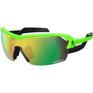 Scott Spur + Spare Lens, neon green matt/black green - Sonnenbrille