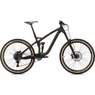 NS Bikes Snabb E 1 2017, camo black/green - Mountainbike