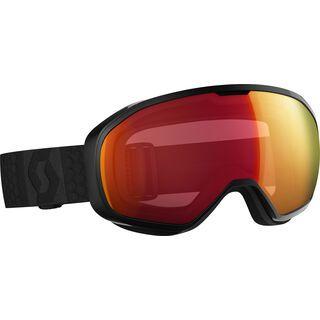 Scott Fix, black/Lens: illuminator red chrome - Skibrille