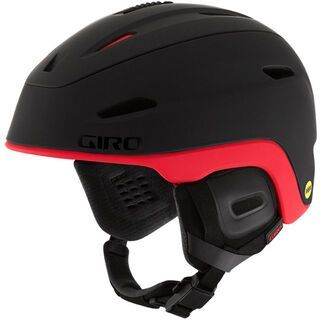Giro Zone MIPS, black bright red - Skihelm