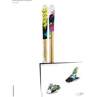 K2 SKI Set: Missconduct 2013 + Marker Squire 11