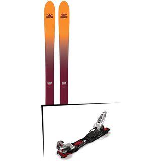 Set: DPS Skis Wailer F99 Foundation 2018 + Marker Baron EPF 13 black/white/red