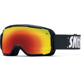Smith Grom, black/Lens: red sol-x mirror