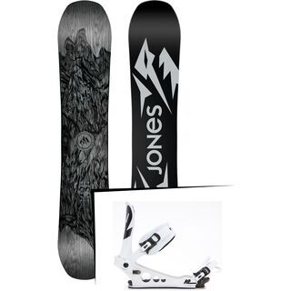 Set: Jones Ultra Mountain Twin 2019 + K2 Lien AT (1919510S)