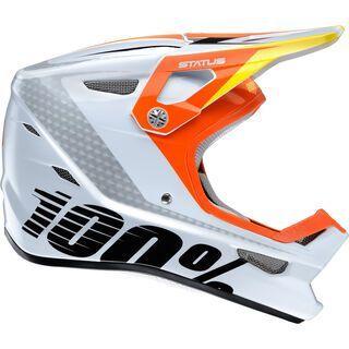 100% Status DH/BMX Helmet, d-day white - Fahrradhelm