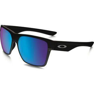 Oakley TwoFace XL Polarized, matte black/Lens: sapphire iridium - Sonnenbrille