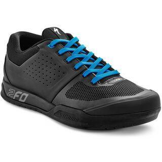 Specialized 2FO Flat MTB, Black/Neon Blue - Radschuhe