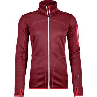 Ortovox Merino Fleece Jacket W, dark blood - Fleecejacke