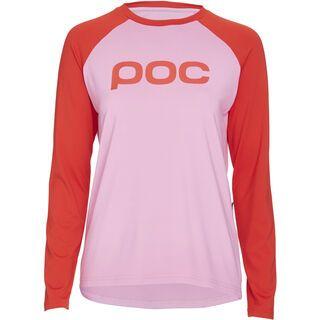 POC Essential MTB Women's Jersey, altair pink/prismane red - Radtrikot