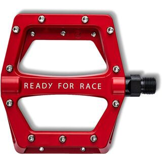 Cube RFR Pedale Flat CMPT red