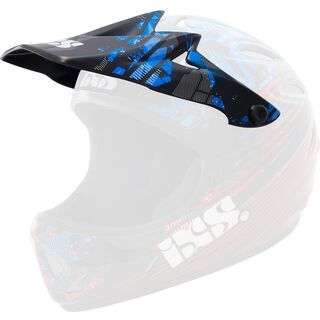 IXS Visier + Pin Phobos Velvet, red