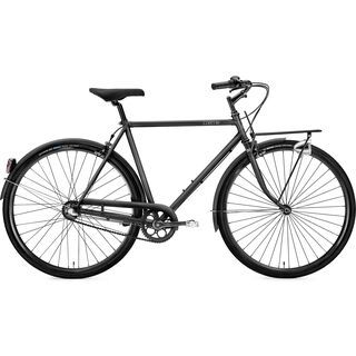 Creme Cycles Caferacer Man Solo, 7 Speed 2016, all black - Cityrad