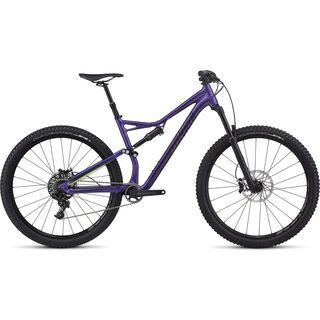 Specialized Stumpjumper FSR Comp 29 2017, purple/mo green/black - Mountainbike