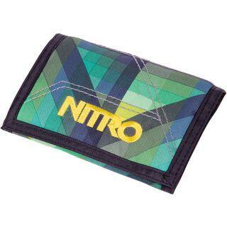 Nitro Wallet, geo green - Geldbörse